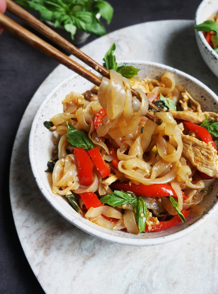 Clean Keto Drunken Noodles