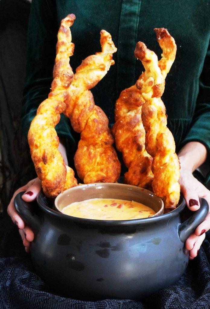 Fire and Brimstone Keto Soft Pretzels