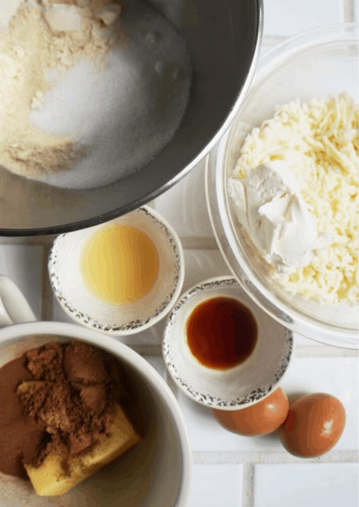 Keto Cinnamon Roll Ingredients