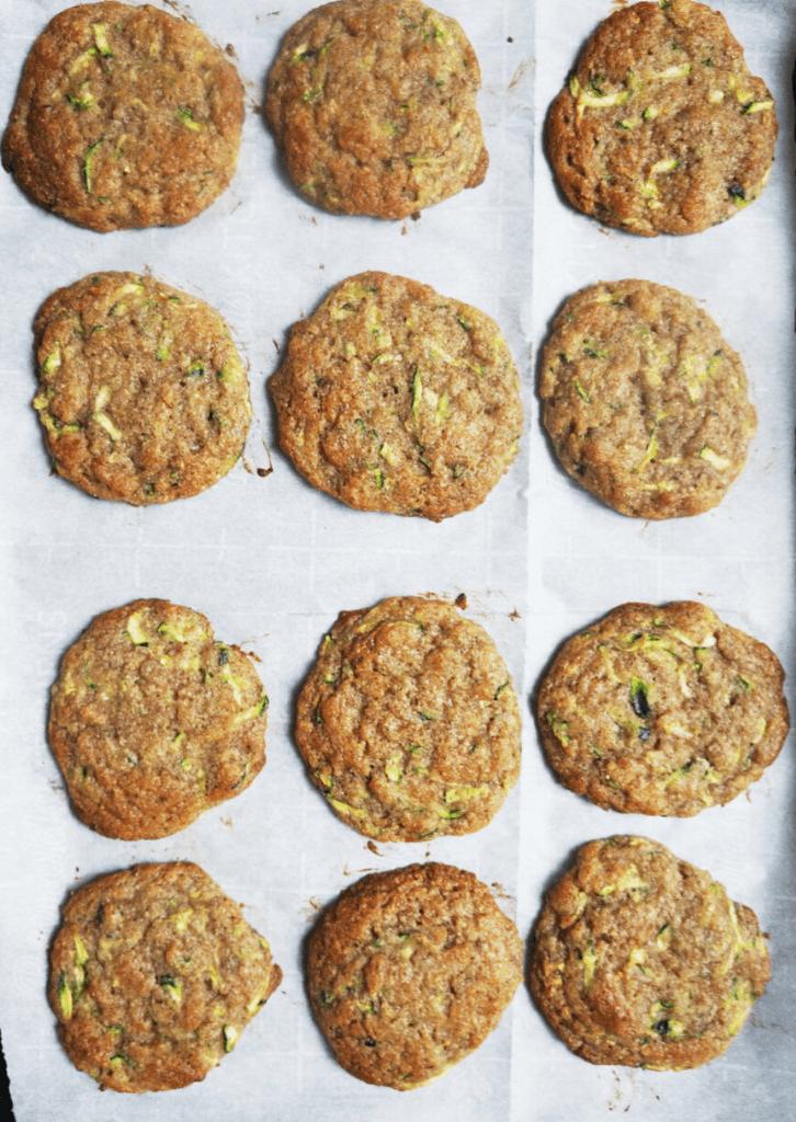 Keto Zucchini Bread Cookie Shapes