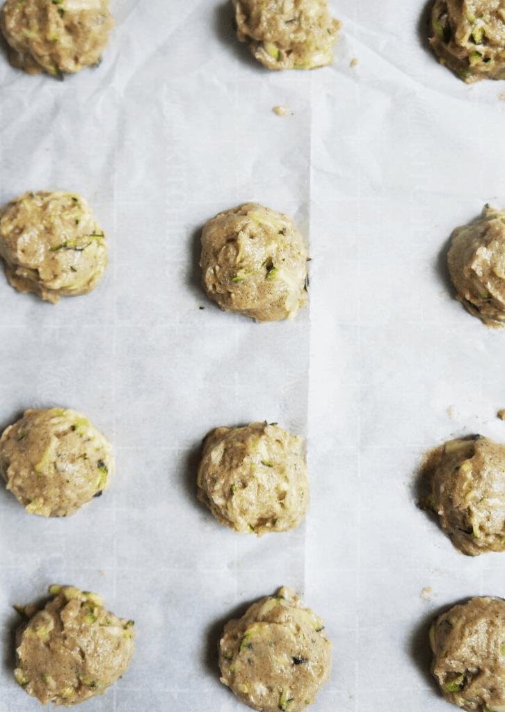 Keto Zucchini Bread Cookies