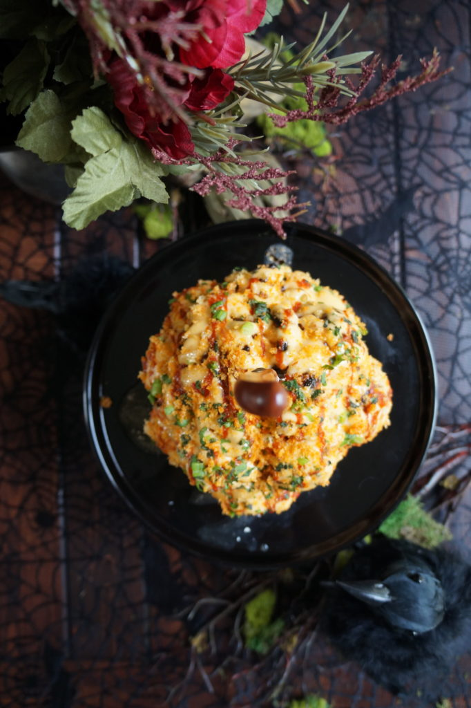 Keto Halloween Recipe Cauliflower Brain