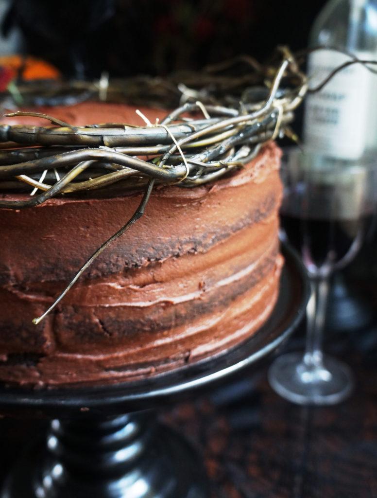 Keto Chocolate Cake Layers