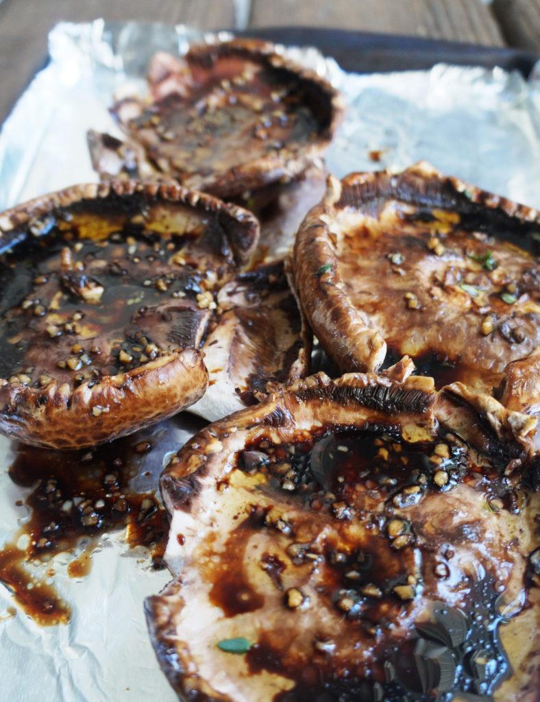 Keto Portobello Mushrooms