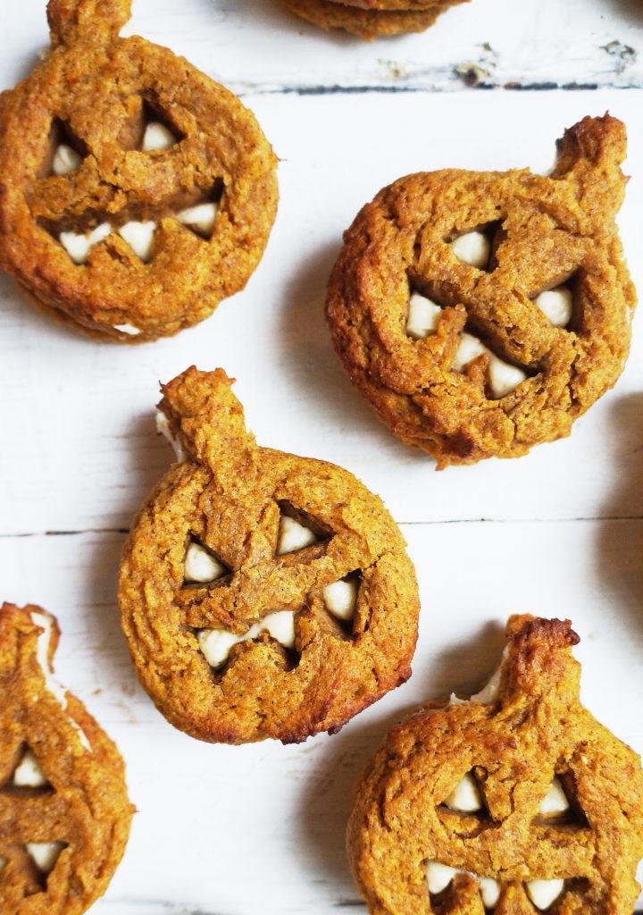 Keto Pumpkin Whoopie Bread Pies