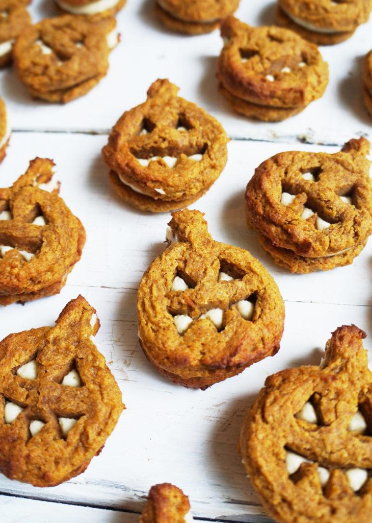 Keto Pumpkin Bread Whoopie Pies