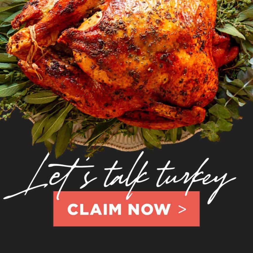 Free Keto Thanksgiving Turkey
