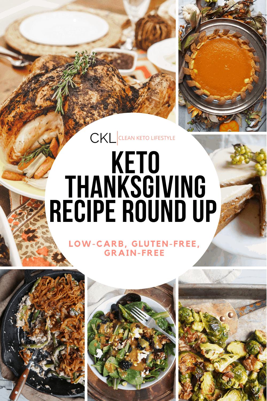 Keto Thanksgiving Recipe Round Up