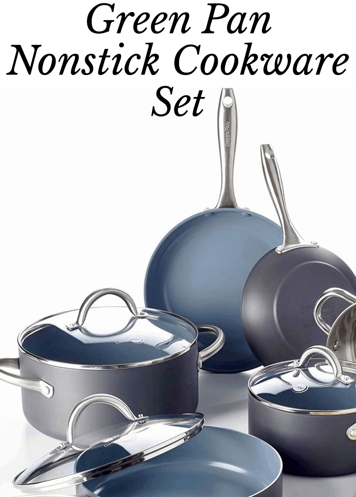Green Pan Nonstick Cookware Set