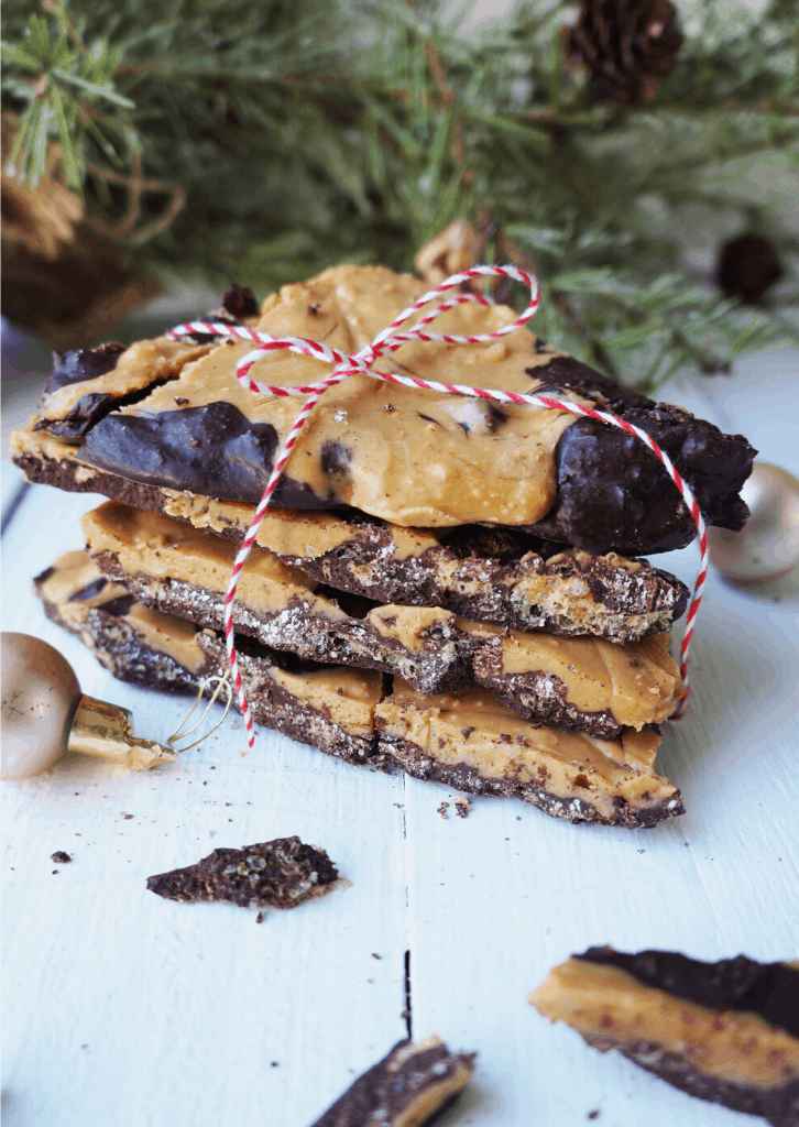 Keto Peanut Butter Chocolate Bark