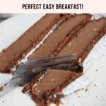 Keto Chocolate Egg Loaf