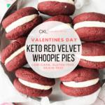 Keto Red Velvet Whoopie Pies