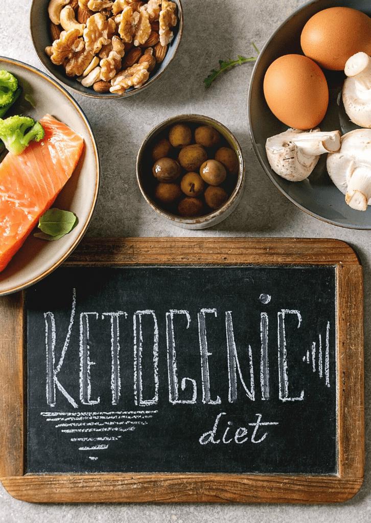 Keto Diet chalkboard