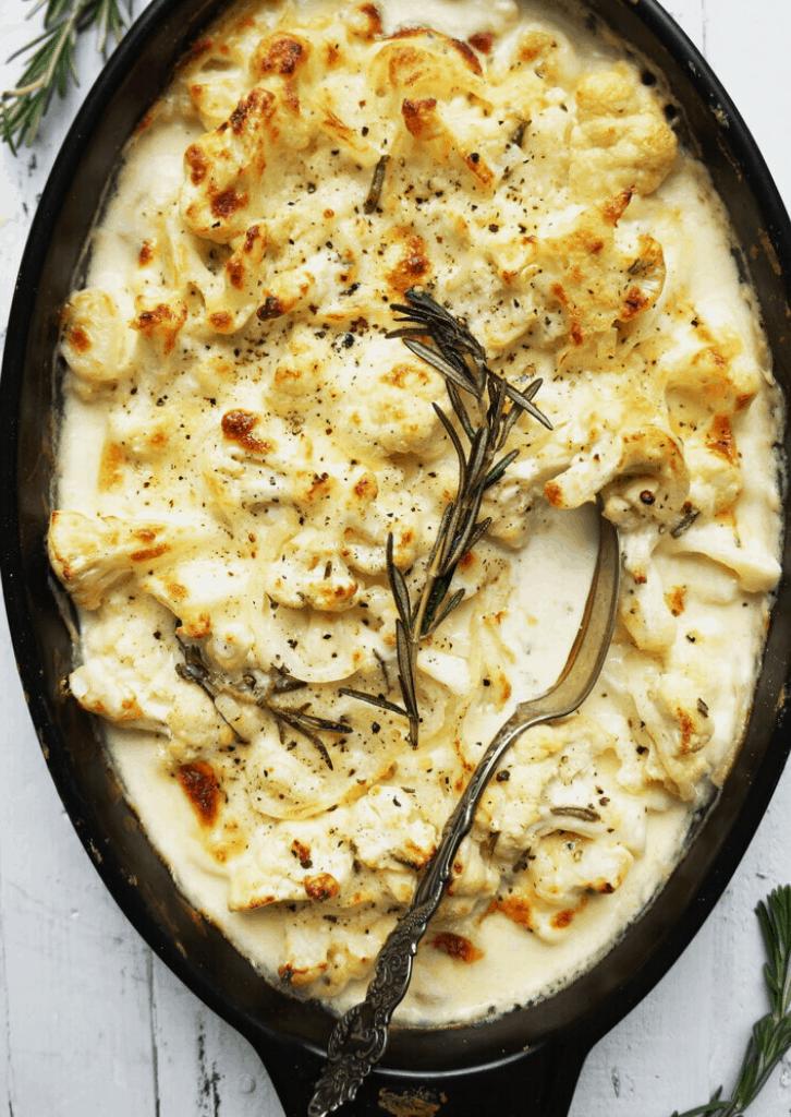Keto Cauliflower Gratin