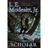 "<span class=""item""><span class=""fn title-book"">SCHOLAR</span><span class=""title-author""> by L. E. Modesitt Jr.</span></span>"