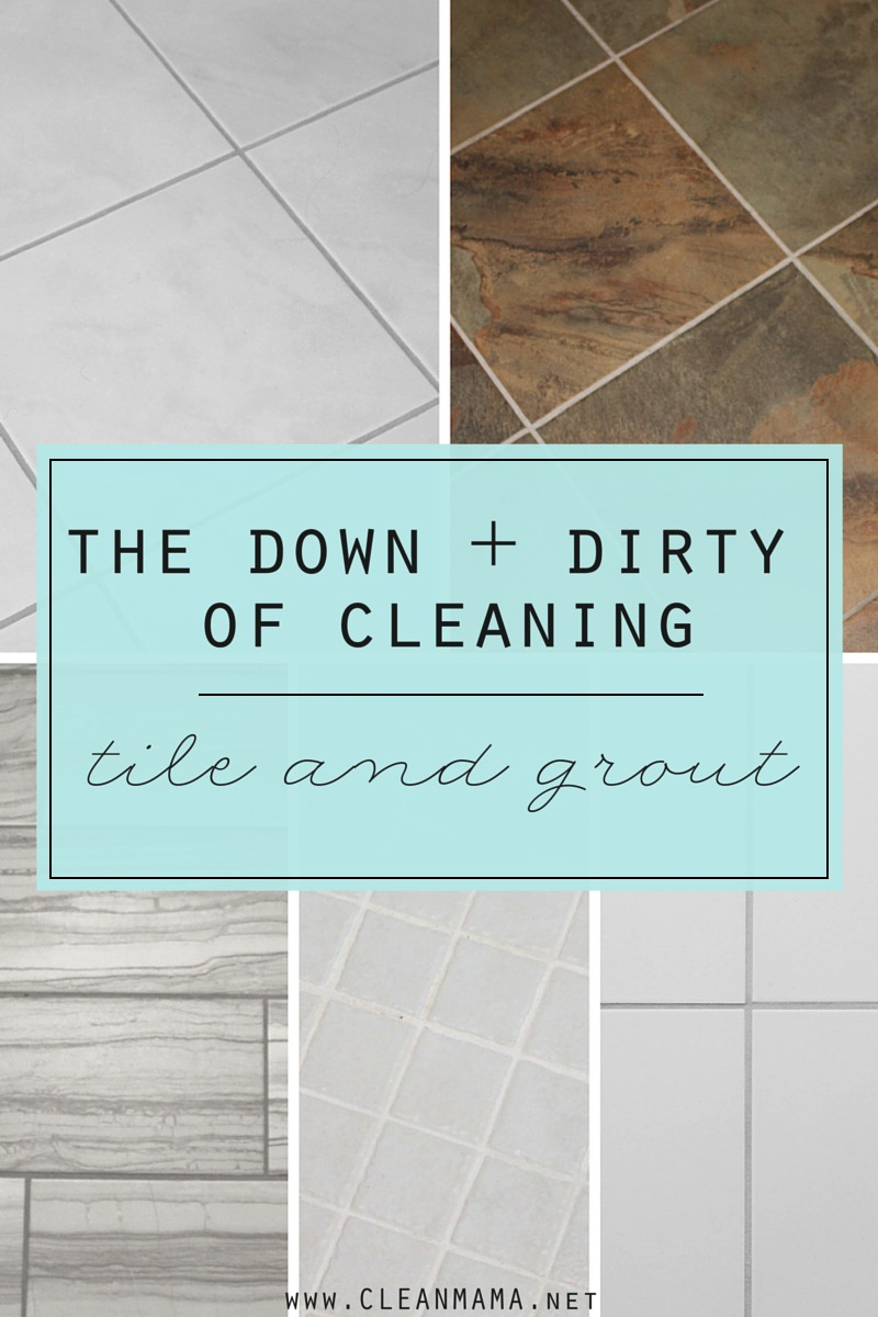 Best Way To Clean Bathroom The Down And Dirty Of Cleaning Tile And Grout Clean Mama