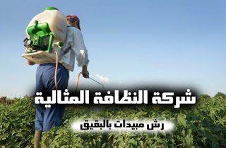 شركة رش مبيدات بالبقيق