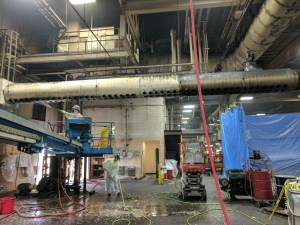 Technical Cleaning & Degreasing at Industrial facility