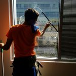 Final construction clean - window cleaning in Columbia, SC by Clean Metro, Inc.