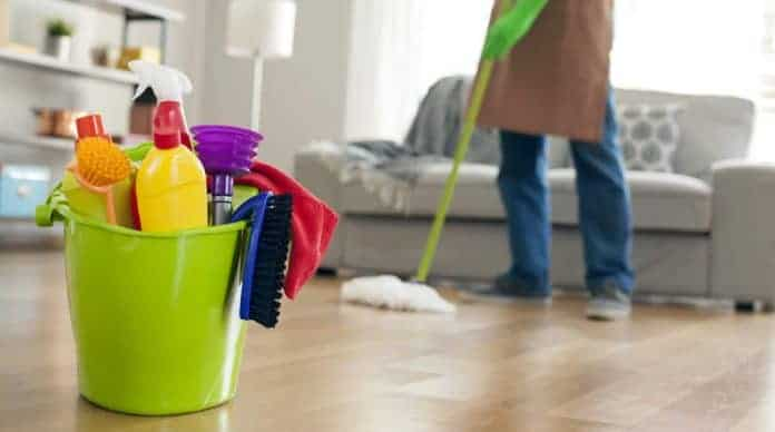 hire a cleaning lady