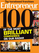 CLEANOLOGY® named as 100 Most Brilliant Companies on ENTREPRENEUR MAGAZINE's radar!