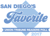 Union-Tribune readers name Cleanology® as one of San Diego County's Favorites in 2017