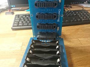 Bakre Strömodul samt Batteri module