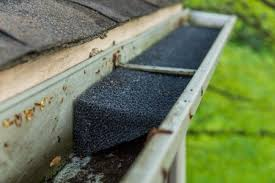 gutter foam cleaning