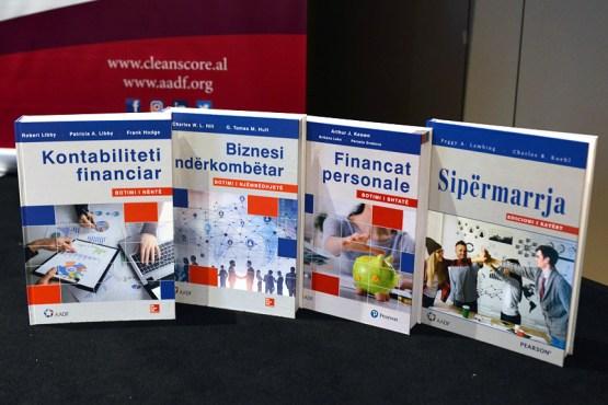 Sipërmarrja - Financa personale - Biznesi ndërkombëtar - Kontabiliteti financiar