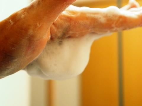 牛乳石鹸 赤箱 泡 洗顔