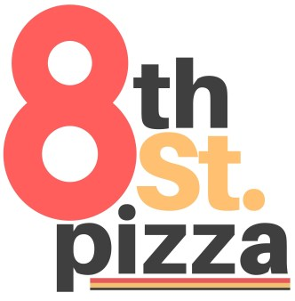 8th Street Pizza Logo