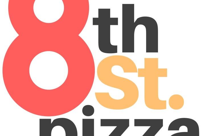 8th Street Pizza Logo
