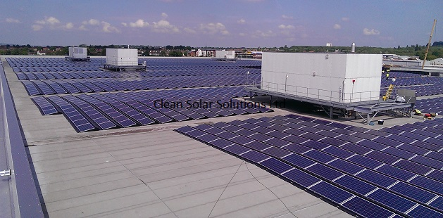 Solar Panel Cleaning At BMW Mini Plant In Oxford Completed