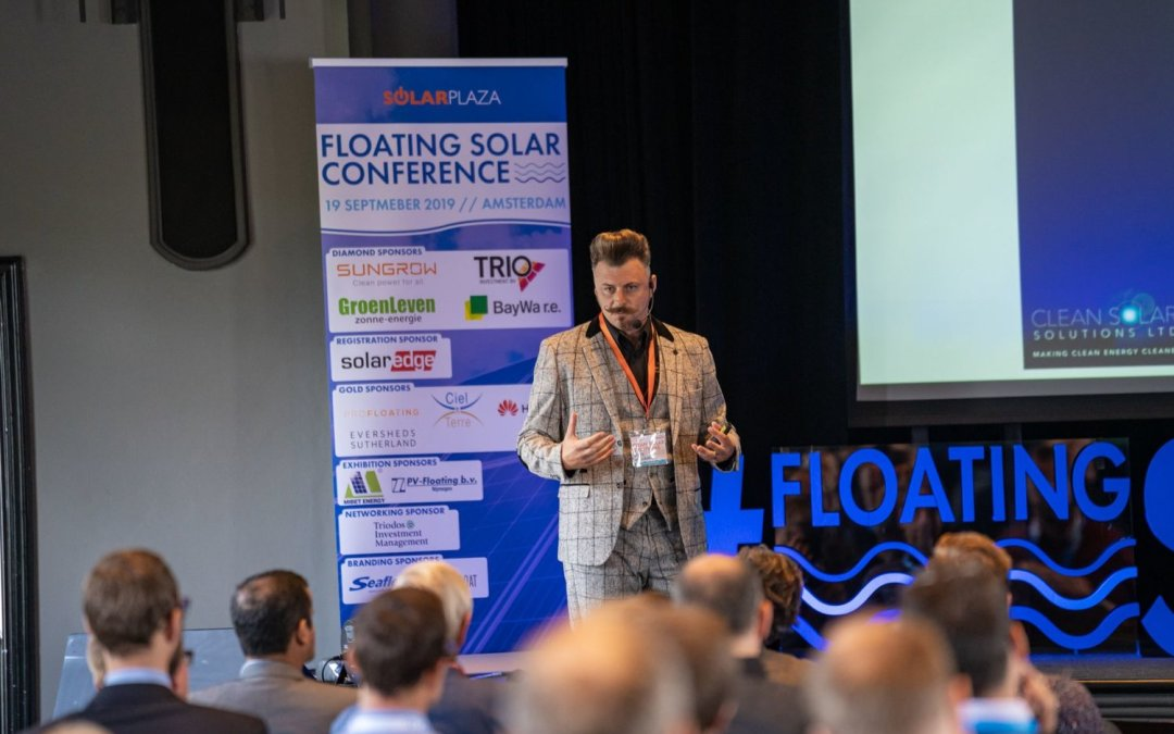 O&M Education At World's First Floating Solar Conference