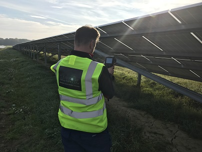 Solar Panel Thermal Imaging Completed On Hereford Solar Farm