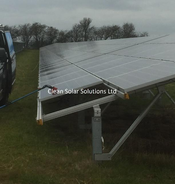 Panel Cleaning Benefits Stack Up On Brickyard Solar Farm