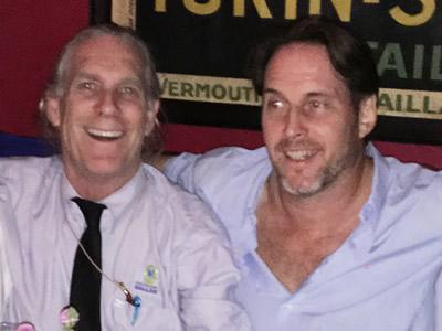 Trammel Crowe and Rod Richardson