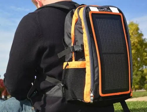 EnerPlex Packr solar backpack courtesy of Ascent.