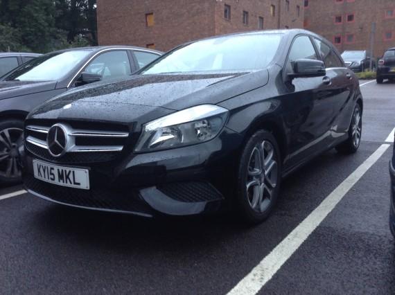 Mercedes A180 Side