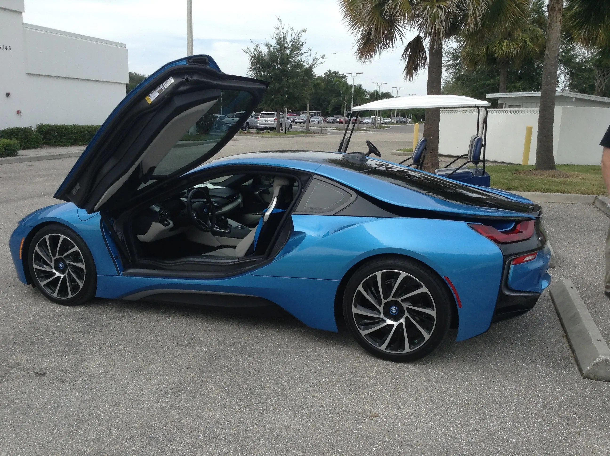 Fully Electric Bmw I8