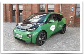 BMW i3 Green