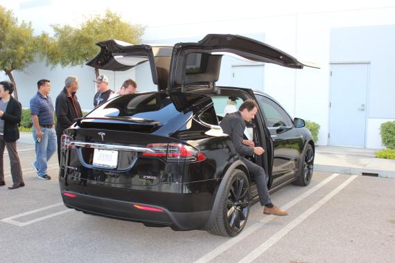 Tesla Model X black