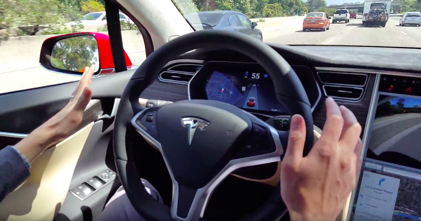 High-Speed Autosteer To Hit Tesla's Hardware 2.0 Vehicles In ~2 Weeks