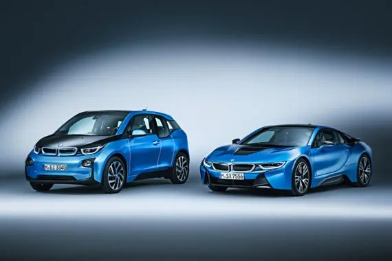 BMW i3 protonic blue 7