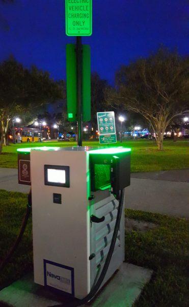 DC fast charging station Florida