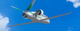 Hybrid-electric airplane Zunum Aero