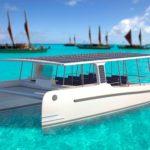 Solar powered SoelCat 12 Yacht