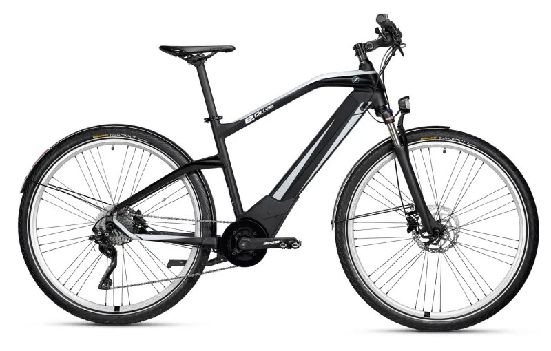 BMW Active Hybrid E-Bike — 250 W, 66 Pound-Feet Of Torque