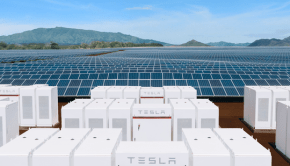 Tesla solar power plant Hawaii