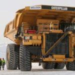 Caterpillar electric truck Sweden